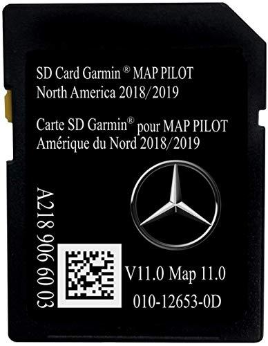 Latest 2018/2019 Navigation SD Card 2019 2018 2017 Version A2189066003 for Mercedes B C CLA GLA GLC SLC