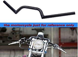 Color : 1 black Poign/ées de moto 22MM Moto R/étro guidon for Harley Style Accessoires Moto Pi/èces for moto Grip Accessoires moto