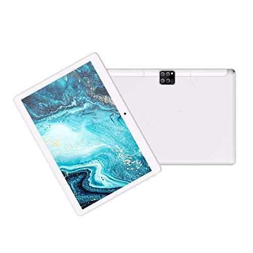 LIU Tableta Android Tableta de 10 Pulgadas y 4 núcleos WiFi, 1 GB de RAM, 16 GB de Almacenamiento, Pantalla Full HD, Cámara Dual Trasera de 2MP, Bluetooth, GPS