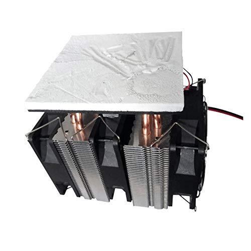 Modulo electronico Semiconductor Equipo de refrigeración Pequeño refrigerador Sistema de radiador de alta potencia Pequeño refrigerador electrónico No hay fuente de alimentación XD-6028 12V 10A