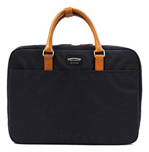 [ワンダーバゲージ]WONDER BAGGAGE GOODMANS MG BUSINESS BAG ブリーフケース WB-G-011 NAVY