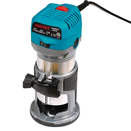 HARVET R0700 1.25HP 6.5Amp Variable Speed Palm Compact Router