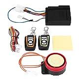 Alarma Seguridad antirrobo, Seguridad antirrobo para Motocicletas Sistema de Alarma Control de Kit de Alarma de Arranque Remoto