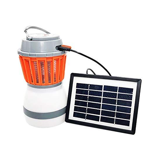 Dicomi Lámpara Anti-Mosquitos, luz de Camping multifunción Impermeable.(Gris)
