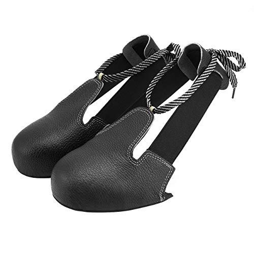 Ashley GAO Zapatos de Seguridad Unisex Antideslizantes Antideslizantes con Punta de Acero, cubrezapatos de protección Universal para la Industria