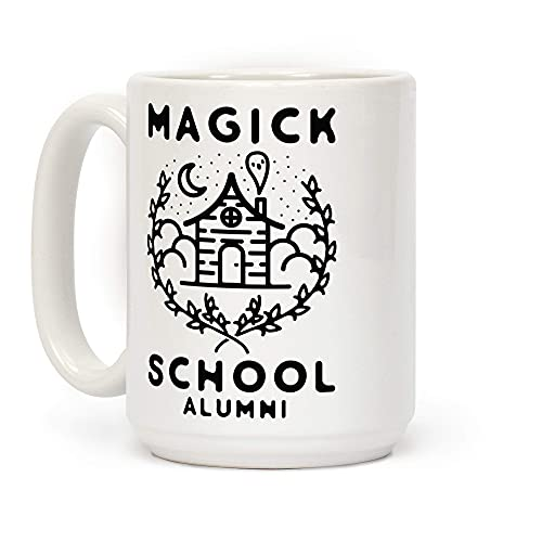 Taza De Café,Alumnos De La Escuela De Magia Blanco 11 Onzas Tazas De Cerámica Divertidos Taza De Té Idea Taza De Leche Para Aniversario,Día De La Madre,Niños