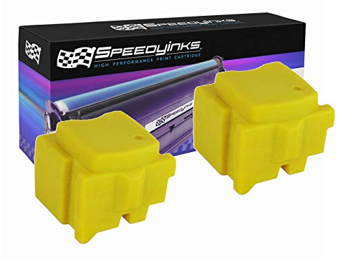 Speedy Inks Compatible Solid Ink Cartridges for Xerox ColorQube 8570 (Yellow, 2-Pack)