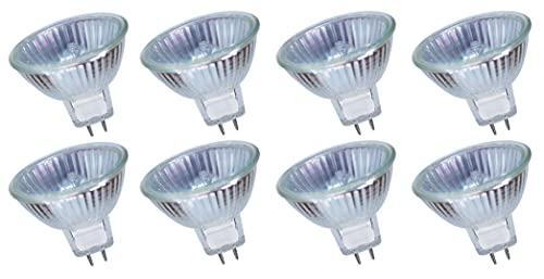 MR16 35W Halogen Reflektor Halogenlampe GU5,3 Dimmbar Warmweiß (8 Stück)