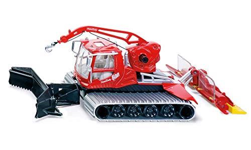 Siku 4914, Pistenbully, 1:50, Metall/Kunststoff, rot, Ausziehbare Seilwinde