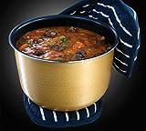 Russell Hobbs 21850-56 Cook@Home Multicooker (900 Watt, 5 l, 11 Kochprogramme, Anti-Kondensations-Deckel, Warmhaltefunktion) schwarz/silber - 10
