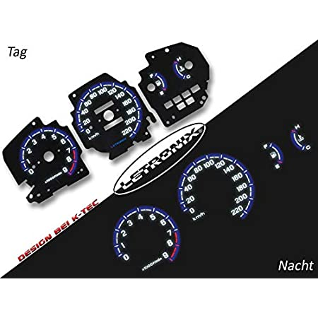 Letronix Plasma Tacho Tachoscheiben Geeignet Für Auto Civic 0 220km H 8000u Min Auto