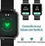 Zoom IMG-1 smartwatch orologio fitness schermo tattile