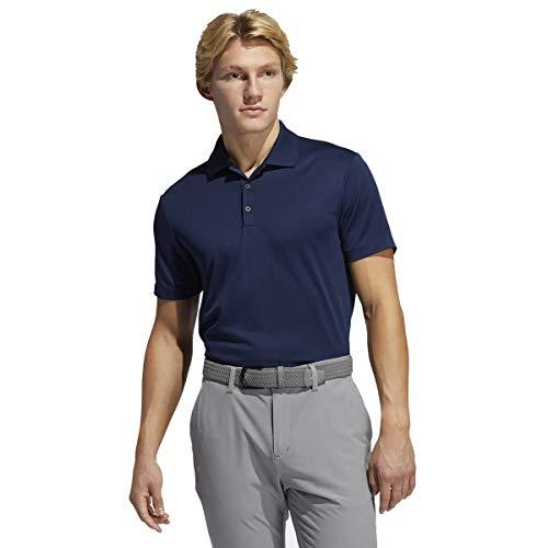 adidas Golf Mens Performance Polo Shirt Collegiate Navy L