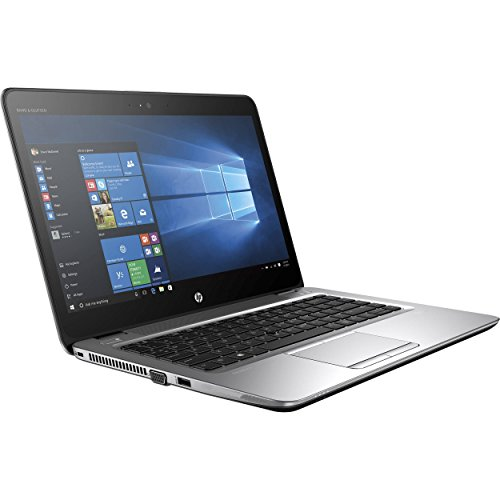 "HP EliteBook 840 G3 14"" Anti-Glare HD Business Laptop (Intel Core i5-6300U, 8GB DDR4, 256GB SSD) Fingerprint, Backlit, DP, VGA, Type-C, CAN/US Keyboard, Windows 10 Pro Downgradeable Window 7 Pro"