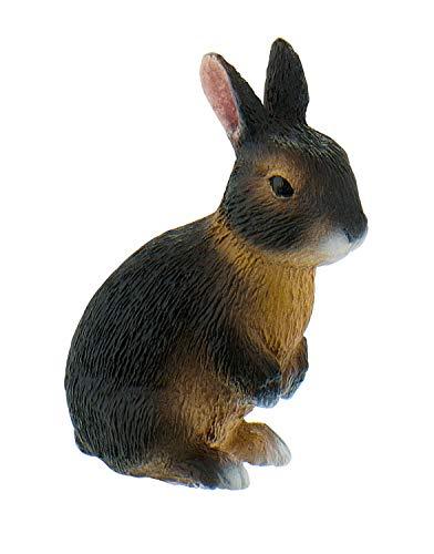 Bullyland 64612 - Spielfigur, Kaninchen, ca. 5 cm groß, liebevoll handbemalte Figur, PVC-frei, tolles Geschenk für Jungen und Mädchen zum fantasievollen Spielen
