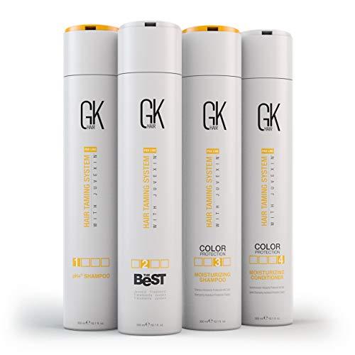 Global Keratin GKhair El mejor KIT profesional para alisar y alisar el cabello (300 ml/ 10.1 fl.oz) Para un cabello sedoso, suave y natural