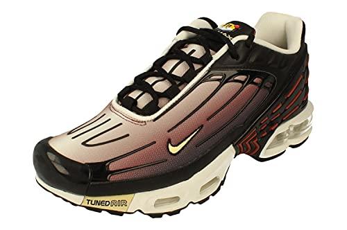 Nike Uomini Tuned 1 Air Max Plus III 3 - CT1693 001 - Nero Melon Tint Claystone Rosso, Nero (Nero ), 42.5 EU