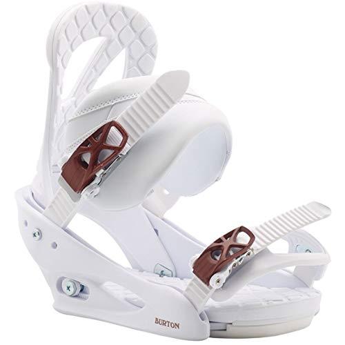 Burton Damen Snowboardbindung Stiletto, Größe:M, Farben:White