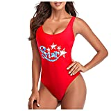 YANFANG BañAdor Color SóLido para Mujer,Mujeres Bandeau Vendaje Bikini Set Push-Up Traje De BañO BrasileñO Ropa Playa BañO,Mujeres,4-Rojo,M
