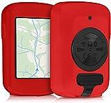 CFSAFAA Accesorios para Bicicletas Sktycase Compatible con Garmin Edge 820 / Explore 820 - Bicicleta de Silicona Suave GPS Sistema de navegación Cubierta Protectora - Rojo