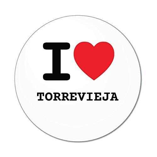 JOllify Aufkleber - TORREVIEJA – Farbe: Design: I Love - Ich Liebe