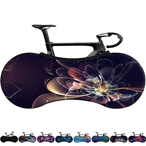 Worth having - Cubierta de polvo de bicicleta para almacenamiento en interiores, cubierta de rueda de bicicleta a prueba de rasguño alto lavable, paquete de neumáticos engranajes protectores de bicicl