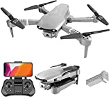 Daily Accessories Drone 5G Folding High Definition 4K UAV Aerial Photography Aircraft Wide Angle Live Video RC Quadcopter with Altitude Hold Gravity Sensor Function Saving Brushless DC Motor