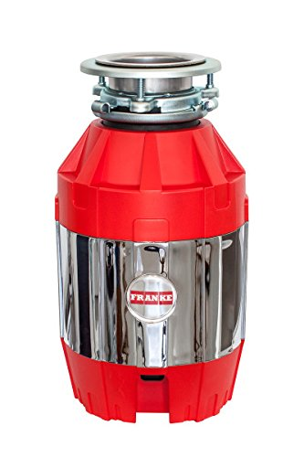 Franke FWDJ75 Disposer, 14.6 x 9 x 12.5, Red/Silver