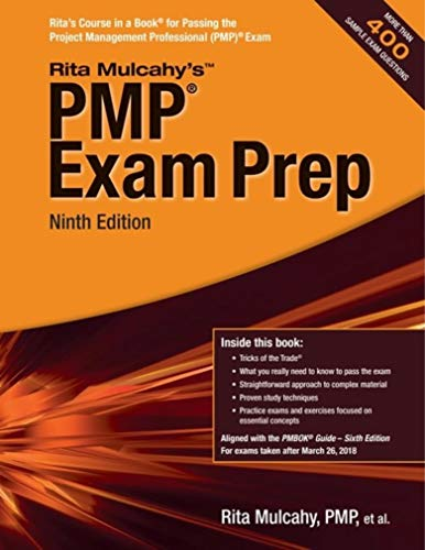PMP Exam Prep - Rita Mulcahy Ninth Edition