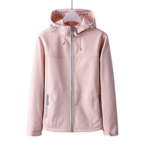 Zhuhuimin Outdoor bergsport pak paar winddicht waterdicht maat herfst en winter mantel vrouwen evenals fluweel softshell jas XXL 2