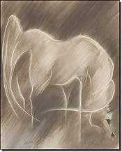 Pharaoh by Kim McElroy - Horse Equine Art Ceramic Accent Tile 10