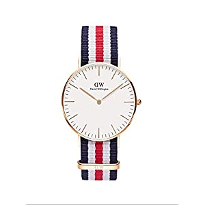 Daniel Wellington de mujer reloj de pulsera analógico de cuarzo (Talla