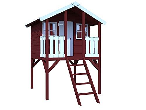 Palmako Kinderspielhaus / Stelzenhaus Toby 16 mm natur