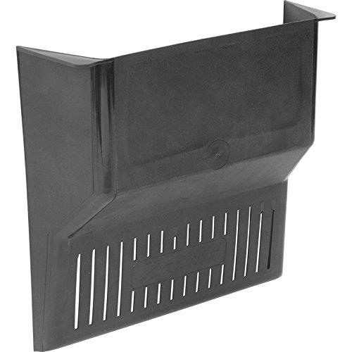 Easy-Fit Leaf Stopper Drain Cover - Black