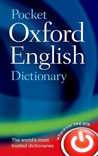 powerful Pocket Oxford English Dictionary