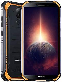 """DOOGEE S40 PRO【4GB RAM 64GB ROM】, Android 10 IP68 robuuste mobiele telefoon zonder contract, Helio A25 Octa Core, 5,45"""" Go..."""