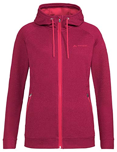 VAUDE Damen Jacke Women's Skomer Fleece Jacket, Fleecejacke, Wanderjacke, crimson red, 40, 414129770400