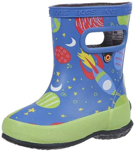 BOGS Kids' Skipper Waterproof Rubber Rain Boot for Boys...