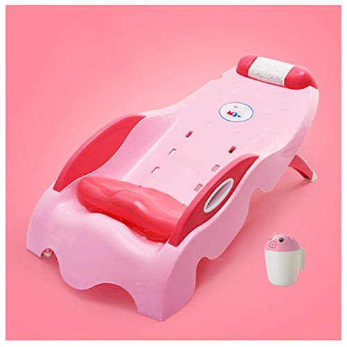 YDDZ Shampoo Bed Foldable Shampoo Recliner Both Adults and Children Can Use The Hair Bath Chair Tear-Free Washing Salon Chair Adjustable Seat Cushion 84x44x34cm