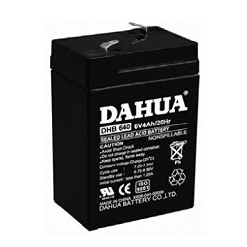 Batteria ricaricabile al piombo 6V 4AH per allarmi antifurto ups lampade di emergenza giocattoli videosorveglianza - BP06-4 - GIGRA LINE BP06-4