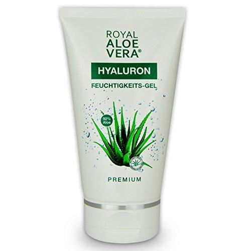 Royal Aloe Vera Hyaluron Pflege Gel / Aftershave Gel mit 92% Aloe Vera (1)