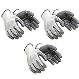 Surex Rifa Nylon Anti Cut Industrial Safety Hand Gloves (Grey) Pack of 3