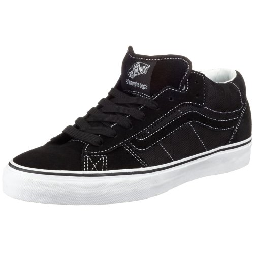 Vans VF4B3T9 M LA CRIPTA DOS MID, Herren Sneaker Schwarz ((Checkjaquard)) 45