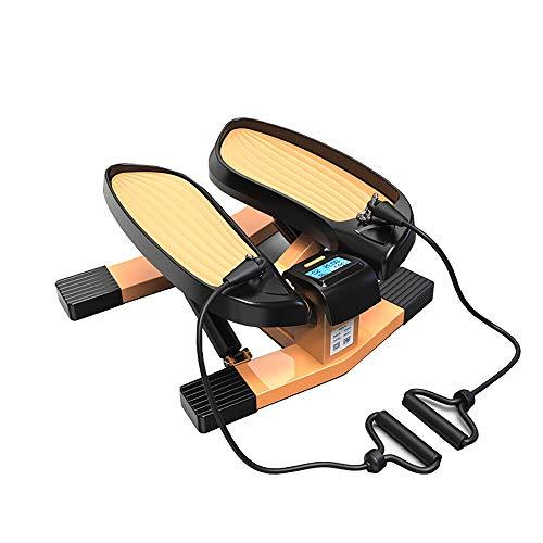 DODOBD Mini Stepper Fitness Portátil Maquina de Subir Escaleras Stepper Up-Down con Pantalla, Movimiento en Forma de V, Mini Bicicleta Estatica para Toda la Familia
