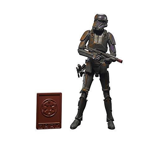 Hasbro Star Wars The Black Series - Credit Collection - The Mandalorian - Action figure Trooper della Morte Imperiale, da 15 cm da collezione