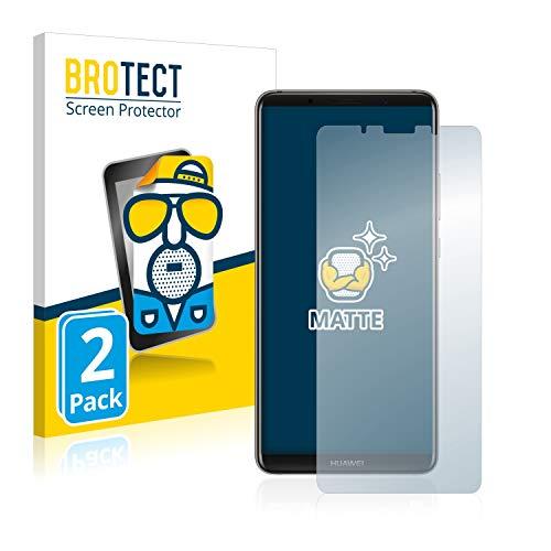 brotect Pellicola Protettiva Opaca Compatibile con Huawei Mate 10 PRO Pellicola Protettiva Anti-Riflesso (2 Pezzi)