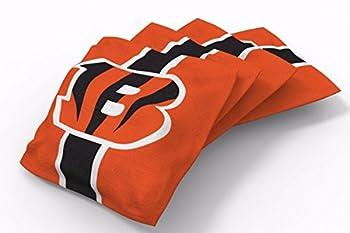PROLINE 6x6 NFL Cincinnati Bengals Cornhole Bean Bags - Stripe Design  B