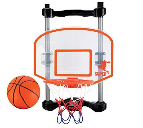 NSG Over The Door Basketball Hoop with Shot Clock, Electronic Scoring...