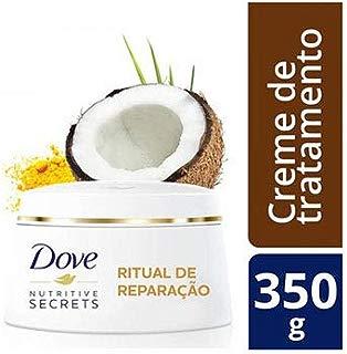 Creme de Tratamento Dove Ritual de Reparação 350 g, Dove, Branco