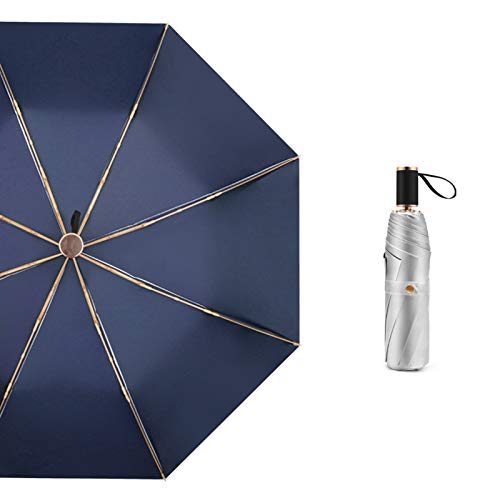 R1vceixowwi 29 cm, ligera y compacta, paraguas plegable de d
